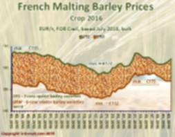 Prices evolution