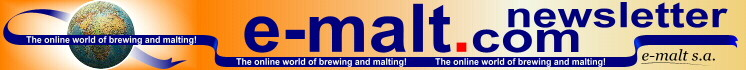 E-Malt.com NewsLetter.